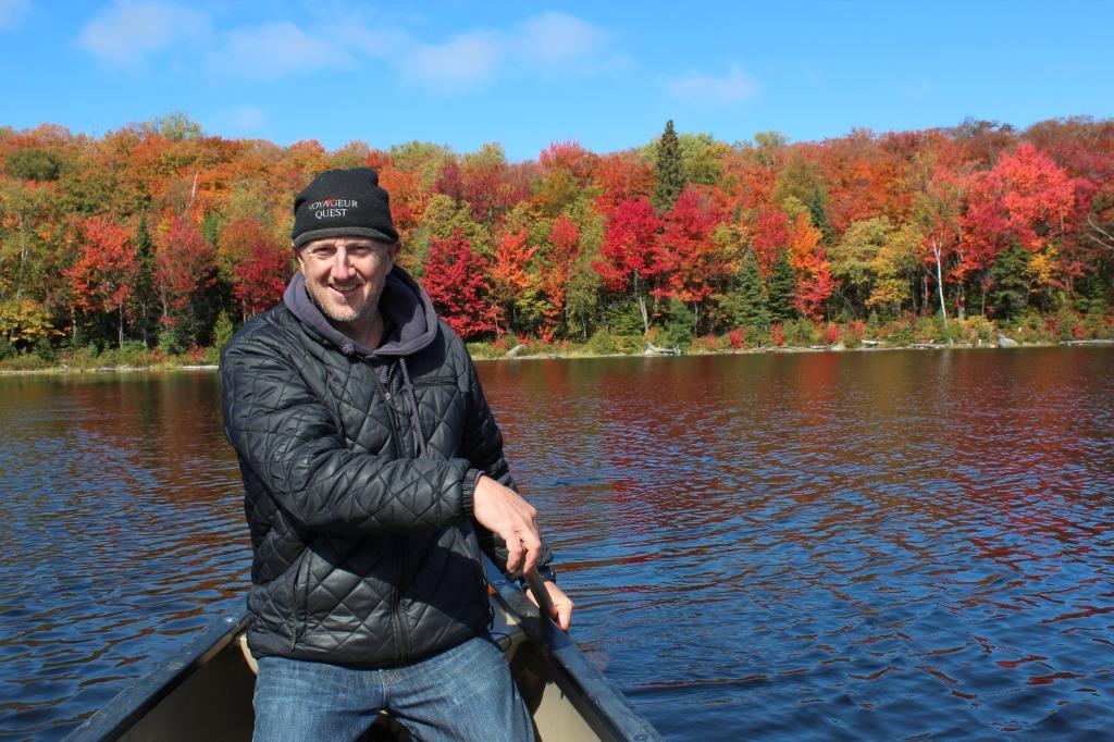 fall colour canoe john 1