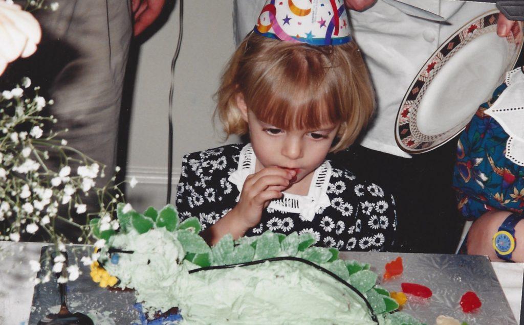 Kate dinosaur cake